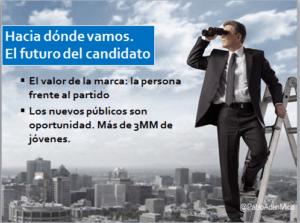 el futuro del candidato